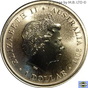 1 Dollar - Elizabeth II (4th Portrait - Lest We Forget - RAAF) -  obverse