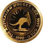 5 Dollars - Elizabeth II (3rd Portrait - Grey Kangaroo - Gold Bullion Coin) -  reverse