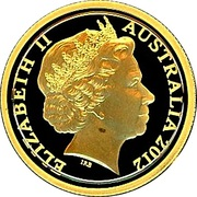 10 Dollars - Elizabeth II (4th Portrait - Mareeba Rock-Wallaby - Gold Proof) -  obverse
