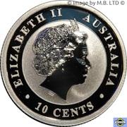 10 Cents - Elizabeth II (4th Portrait - Koala - Silver Bullion Coinage) -  obverse