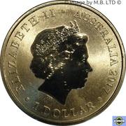 1 Dollar - Elizabeth II (4th Portrait - 70th Wedding Anniversary) -  obverse