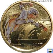1 Dollar - Elizabeth II (4th Portrait - Young Collectors - Flight) -  reverse