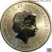 1 Dollar - Elizabeth II (4th Portrait - Young Collectors - Super Senses) -  obverse