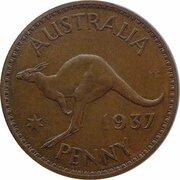 1 Penny - Edward VIII (Pattern) -  reverse