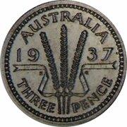 3 Pence - Edward VIII (Pattern) – reverse