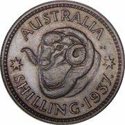 1 Shilling - Edward VIII (Pattern) -  reverse