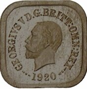 1 Penny - George V (Kookaburra Pattern - Type 8) – obverse