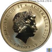 1 Dollar - Elizabeth II (4th Portrait - Centenary of Australian Lighthouses) -  obverse