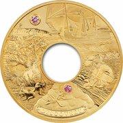 9000 Dollars - Elizabeth II (4th Portrait - Discovery - Gold Bullion Coin) -  reverse