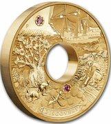 9000 Dollars - Elizabeth II (4th Portrait - Discovery - Gold Bullion Coin) -  obverse