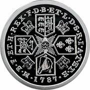 50 Cents - Elizabeth II (4th Portrait - Proclamation Shilling Tribute) -  reverse
