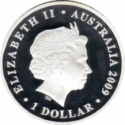 1 Dollar - Elizabeth II (4th Portrait - 200 Years of Postal Services in Australia - Silver Proof) -  obverse