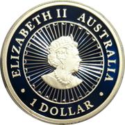 1 Dollar - Elizabeth II (6th Portrait - Great Southern Land) -  obverse