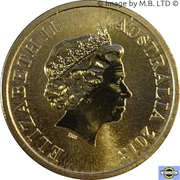 1 Dollar - Elizabeth II (4th Portrait - Young Collectors - Skiing) -  obverse