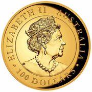 100 Dollars - Elizabeth II (6th Portrait - Koala - Gold Bullion Coin) -  obverse