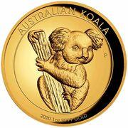 100 Dollars - Elizabeth II (6th Portrait - Koala - Gold Bullion Coin) -  reverse