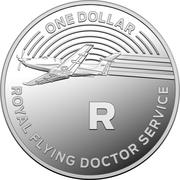 1 Dollar - Elizabeth II (4th Portrait - The Great Aussie Coin Hunt - Letter R - Silver Proof) – reverse