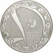 30 Dollars - Elizabeth II (4th Portrait - Commonwealth Games Melbourne - Silver Proof) -  reverse