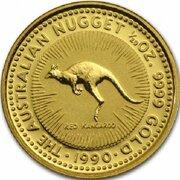 5 Dollars - Elizabeth II (3rd Portrait - Australian Nugget - Gold Bullion Coin) -  reverse