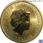 1 Dollar - Elizabeth II (4th Portrait - Birth HRH Prince George) -  obverse