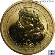 1 Dollar - Elizabeth II (4th Portrait - Birth HRH Prince George) -  reverse