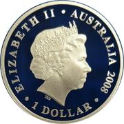 1 Dollar - Elizabeth II (4th Portrait - 90th Anniversary End of WWI) -  obverse