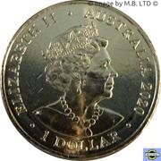 1 Dollar - Elizabeth II (6th portrait - Donation Dollar) -  obverse