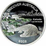 1 Dollar - Elizabeth II (4th Portrait - Discover Australia - Kakadu) – reverse