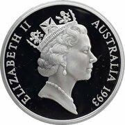 5 Dollars - Elizabeth II (3rd Portrait - Lawson, Blaxland & Wentworth - Masterpieces in Silver) – obverse