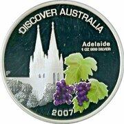 1 Dollar - Elizabeth II (4th Portrait - Discover Australia - Adelaide) – reverse