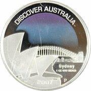 1 Dollar - Elizabeth II (4th Portrait - Discover Australia - Sydney) – reverse