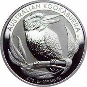1 Dollar - Elizabeth II (4th Portrait - Australian Kookaburra - Bullion Coin) -  reverse