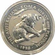 15 Dollars - Elizabeth II (3rd Portrait - Koala Platinum) – reverse