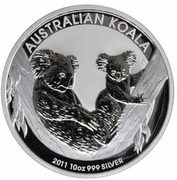 10 Dollars - Elizabeth II (4th Portrait - Koala - Silver Bullion Coin) -  reverse