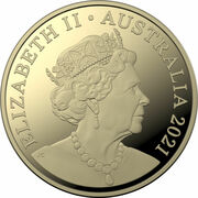 1 Dollar - Elizabeth II (6th Portrait - Four Plush Kangaroos) -  obverse