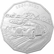 50 Cents - Elizabeth II (6th Portrait - 60 Years Supercars - Special Set Coin) -  reverse