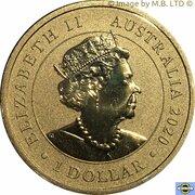 1 Dollar - Elizabeth II (6th Portrait - Merry Christmas) -  obverse
