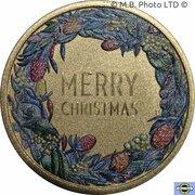 1 Dollar - Elizabeth II (6th Portrait - Merry Christmas) -  reverse