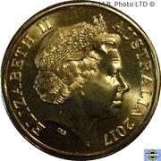 1 Dollar - Elizabeth II (4th Portrait - Coral Sea) -  obverse