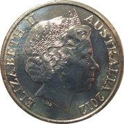 20 Cents - Elizabeth II (Air raid Shelter) -  obverse