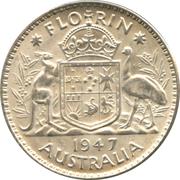 1 Florin - George VI -  reverse
