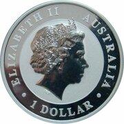 1 Dollar - Elizabeth II (4th Portrait - Koala Silver Bullion Coin) -  obverse