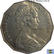 50 Cents - Elizabeth II (2nd Portrait - Dodecagonal type) -  obverse