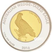 50 Dollars  - Elizabeth II (Australian Wedge-Tailed Eagle) -  reverse