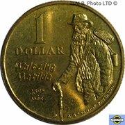 1 Dollar - Elizabeth II (3rd Portrait - Banjo Paterson) -  reverse