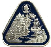 1 Dollar - Elizabeth II (6th Portrait - Shipwreck Zeewijk) -  obverse