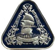 1 Dollar - Elizabeth II (6th Portrait - Shipwreck Zeewijk) -  reverse