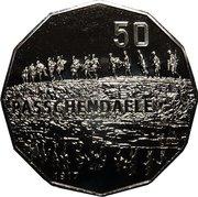 50 Cents - Elizabeth II (4th Portrait - Passchendaele) -  reverse
