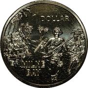 1 Dollar - Elizabeth II (Milne Bay) -  reverse