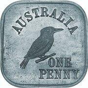 1 Penny - George V (Kookaburra Pattern - Type 6a) – reverse